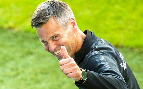 Kjetil Knutsen leder sitt Bodø/Glimt i kvalifisering til Europaligaen torsdag kveld.