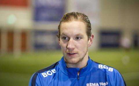Eirik Holmen Johansen mener han har mer på lager enn det han har vist til nå i sin Brann-karriere. Foto: Anders Kjølen