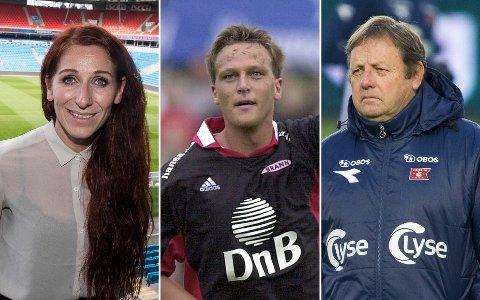 Lise Klaveness (39), Svante Samuelsson (48) og Bjarne Berntsen (64).