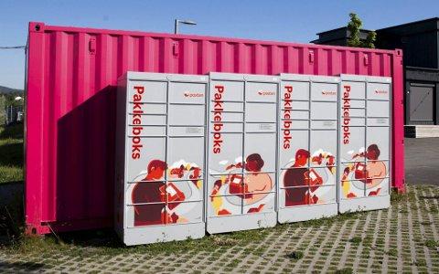 Pakkeboksene fra Posten og tilsvarende automater fra PostNord blir satt ut i Bergen i løpet av 2021.