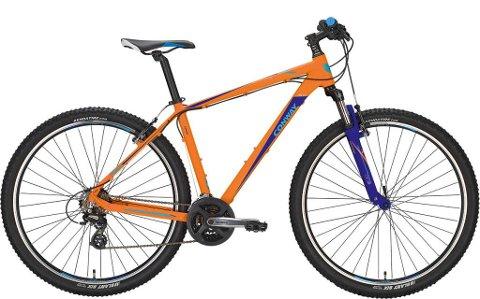 BLE STJÅLET: En sykkel lik denne ble stjålet fra togstasjonen i Egersund natt til tirsdag.