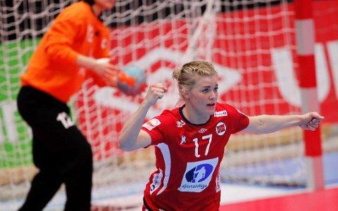 TIL OL: Veronica Kristiansen fra Mjøndalen er tatt ut til OL.