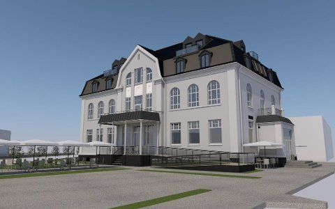 Det gamle bankbygget fra 1915 er nå døpt om til «Bankplassen». Etter lanseringen torsdag er over halvparten av leilighetene solgt.
