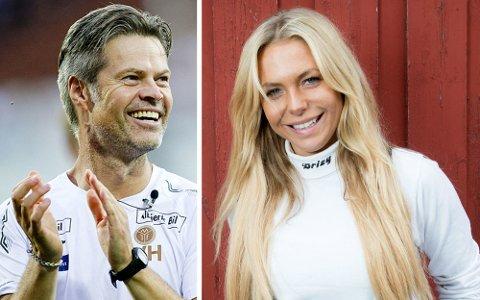 FORLOVET: Vegard Hansen (50) og Malin Berås (30).