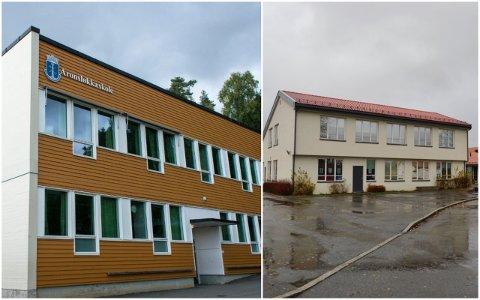 KORONA: Det er meldt om smitte på to skoler i Drammen søndag.