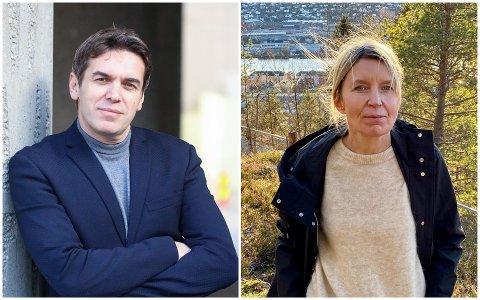 INITIATIVTAKERE: Sylo Taraku og Ingunn Larsen er blant initiativtakerne til Senter for norsk utvandring og innvandring i Drammen.