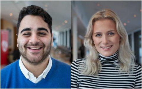 AUF i Buskerud vil ha Signe Høie fra Lier og Rutkay Sabri fra Drammen som ungdomskandidater ved stortingsvalget neste år.