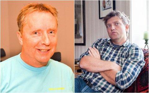 KONFLIKT: Jostein Kretz (til venstre) melder seg ut av partiet etter konflikt med Anders Wengen.