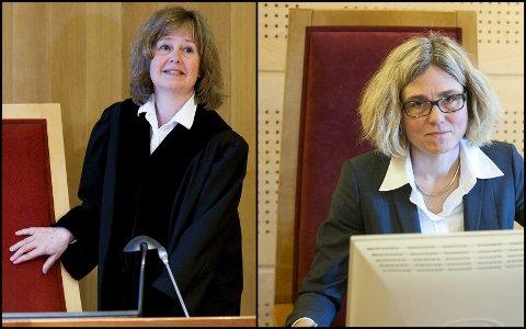 SØKERE: En av disse blir sorenskriver i nye Buskerud tingrett: Kristin Kjelland-Mørdre(til venstre) eller Liv Synnøve Taraldsrud.