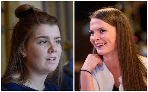 VIL BEHOLDE: Christina Højer Mørkve fra Høyre (t.v.) og Kristin Løvaas Gjerde fra Frp er krystallklare på at de vil beholde dagens abortlov. De sier nei til SVs abort-vedtak.
