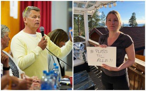 LANDSMØTE: Kjell Erland Grønbeck og Anne Lise Søvde Valle er KrFs toppkandidater i Buskerud. I helgen overværer de landsmøtet til KrF hvor de blant annet skal diskutere en kontantstøtte for eldre.