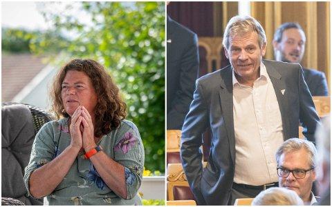 IKKE SIKRE: Både Kathy Lie og Arne Nævra (SV) sier at SV ikke bør gå i regjering for en hver pris.