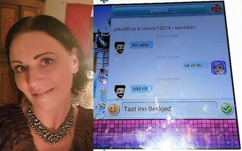 IKKJE TRYGT FOR BORN: – Etter at eg såg meldingane tok eg ei alvorsprat med dottera min, seier Oddrun Elise Kristiansen.
