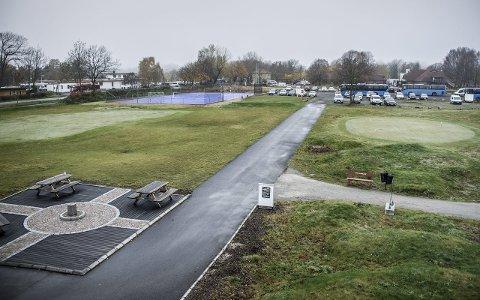 REDUSERT LEIE? Fredrikstad golfpark AS, hvor Gamle Fredrikstad golfklubb er majoritetseier av aksjene, har søkt om betydelig redusert leie for arealene banen disponerer på Østsiden.