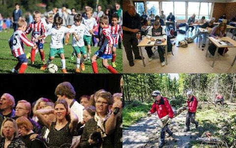 SKJERMES: Idrettsforeninger, antall lærerårsverk ved skolene, Kulturhuset Ekko og Fredrikstad Skiklubb/Løypegjengen, er blant dem som blir skjermet i flertallets budsjett for 2019.