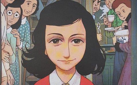 Anne Franks dagbok er lest og elsket av generasjoner. Nå kommer den gripende historien som grafisk roman. Den første grafiske romanen godkjent av Anne Franks Fonds. Illustrasjonen er hentet fra boken.