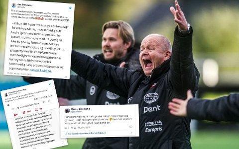 På Twitter er det mange som har kastet seg over FFKs evaluering av sesongen. Flere mener det er sportssjef Per-Mathias Høgmo som må ha skrevet det hele.