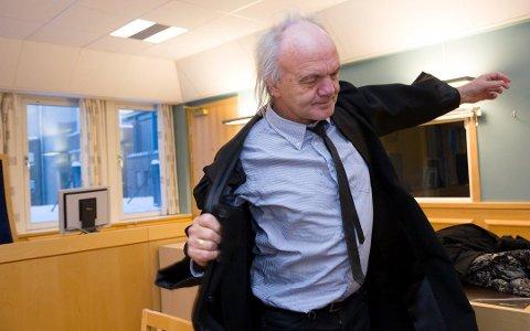 Advokat Harald Otterstad er godt fornøyd med at klienten hans ble frikjent for knivtrusler mot sin tidligere samboer.