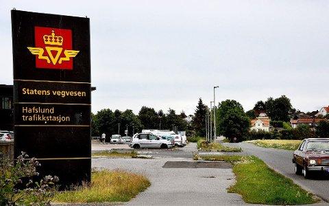 Strengere. Ved Hafslund trafikkstasjon er det innført utvidede smitteverntiltak.