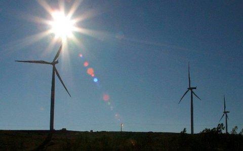 VINDKRAFT: Beboere i Bjerkvik har reagert etter å ha fått forespørsel om eventuell avståelse av grunn til vindpark.