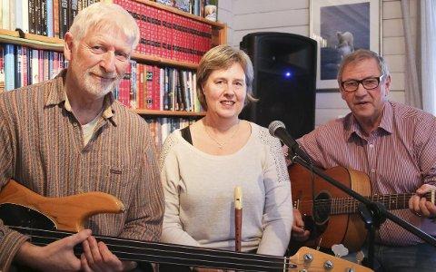 VISER OG JAZZ: Visegruppa Springflo og flere inviterer til jazz og viser i Sjømannskirka. Foto: Privat