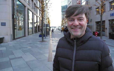 EVENTKONGEN: Stein Hjertholm har kontor på Aker brygge i Oslo hvor han jobber og er medeier i eventselskapet All-In.