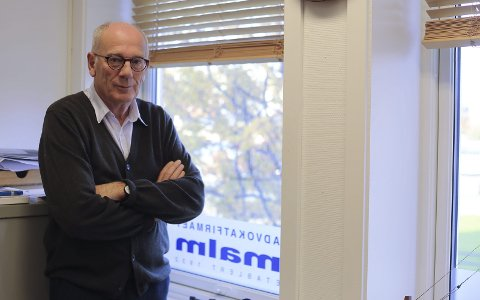 Advokat Egil Malm er engasjert av beboerne i Tunnelveien som skal bli ny Frydenlundforbindelse.
