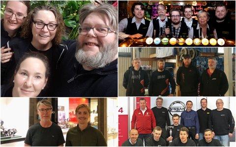 NOMINERT: Narvikguten, Bil og båt Kjøpsvik, Bentro Bil, Urmaker Karoliussen og Hageland er de fem nominerte til årets servicebedrift.