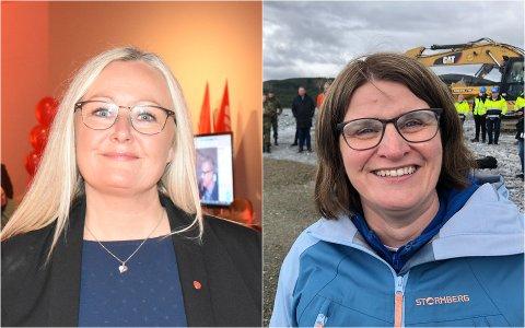 INNE: Både Mona Nilsen (AP) og Marianne Dobak Kvensjø (H) kan nå puste lettet ut over at de kommer inn på Stortinget.