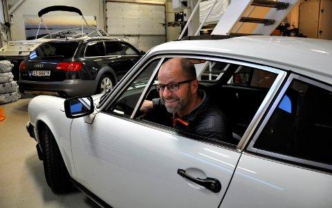 NYTT LEVEBRØD: Rune Fevang kjøper og selger. Alt er til salgs. Også den hvite Porschen.