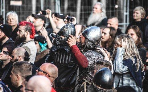 BRAKSUKSESS: Midgardsblot ble i år igjen en braksuksess, mener festivalsjefen.