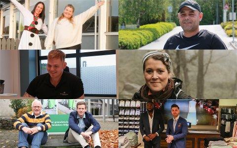 Total økonomistyring Ålgård AS, Talib service, Espeland helse & fitness, Aina foto, Green cleaner og 7slim har alle startet opp i Gjesdal i løpet av året som har gått.