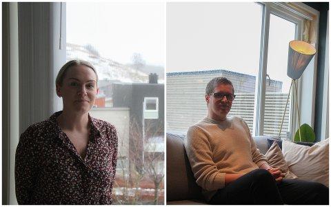 Christin Oftedal og Jørg Magne Tengesdal har begge slitt med lekkasje i sine boliger i Solbakkane. Det er de ikke alene om.