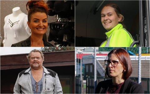Annette Sviland Gilje, Katrine Østebø, Bjørn Rune Wang-Jensen og Daniela Lima har alle startet med noe nytt i september.