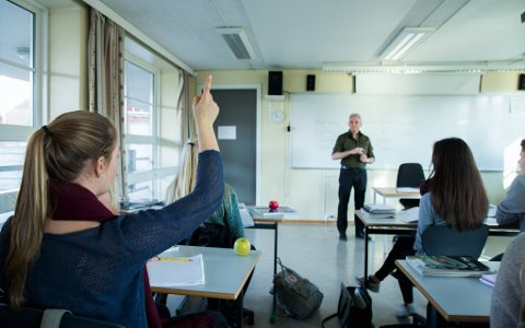 GÅR IMOT: FO Oppland er kritisk til nedskjæringer ved Lillehammer videregående skole.