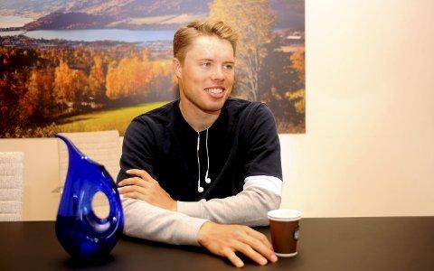 BRONSE: Rasmus Fossum Tiller sikret seg NM-bronse på fellesstarten for U23 forrige sesong og NM-gull i seniorklassa. Foto: Hans Bjørner Doseth