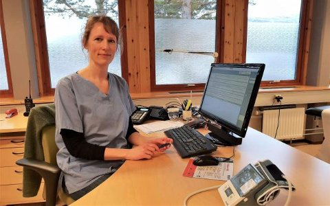 NY FASTLEGE: Astrid Sulheim er ny fastlege i Skjåk.