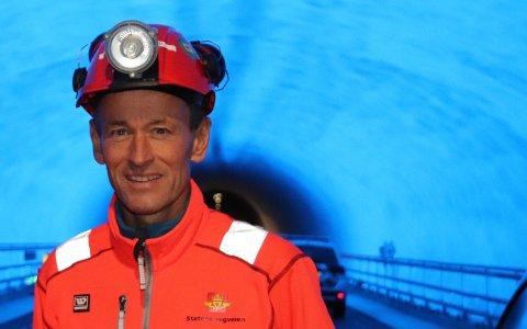 Gunnar Eiterjord har vært leder for byggingen av verdens lengste og dypeste undersjøiske tunnell.