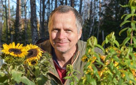 GIR HÅP: – Vi ser at flere vil være og bidra, sier Jon Lurås, fylkesleder i Miljøpartiet De Grønne.