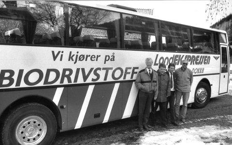 25 ÅR: HBS i 1993. Fra venstre: Gunnar Grothe, Jan Sveen, Bjørn Sandsengen og Gudbrand Johannessen.