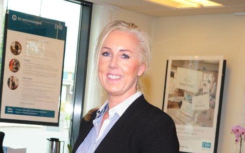 SLUTTER: Tina Ulseth Myrvang slutter som daglig leder for DNB Eiendom på Gran.