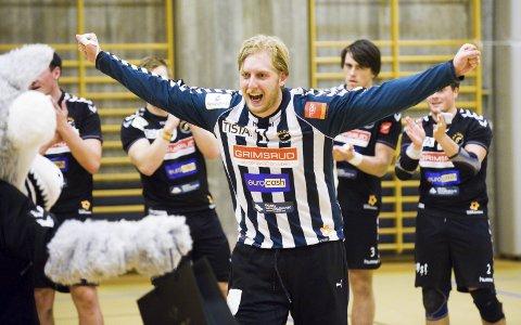 DRØMMELAG: Rasmus Bech var en pulikumsyndling under sin tid i HTH, og har tatt ut et rent Halden-lag som sitt drømmelag.