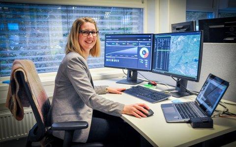 NYTTIG: Dette er ekstremt nyttig lærdom for dem som driver med elbiler og energi, mener prosjektleder og direktør for forretningsutvikling hos eSmart Systems, Tina Skagen.