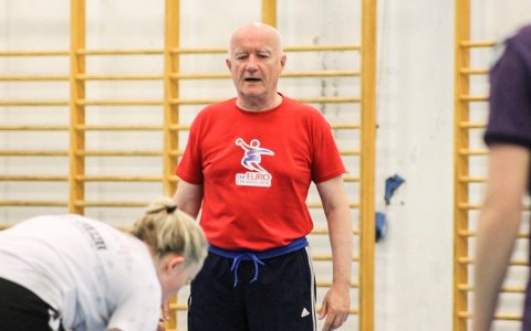 NY TRENER: Milvoj Sarko blir ny A-lagstrener i Halden Håndballforening.