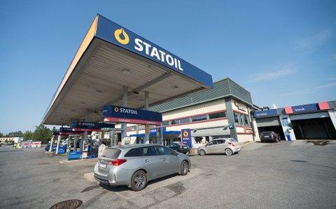 GAMMEL STASJON: Statoil i Vangsveien har sett slik ut siden 1991.