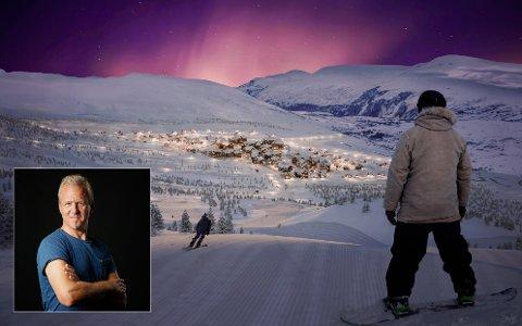 Eidfjord Resort fekk endeleg godkjenning frå Eidfjord kommunestyre måndag. Illustrasjon: Eidfjord Resort
