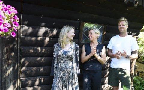 TRekløver: Therese Birkelund Ulvo, Gunilla Süssmann og AK Glück Teigland. Foto: Eli Lund