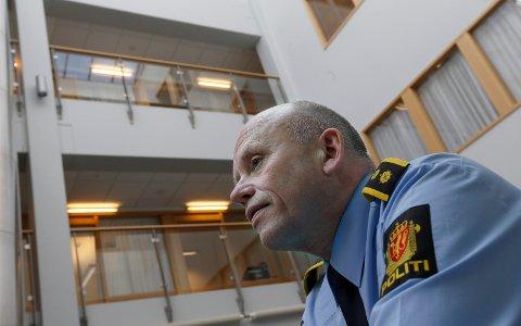 HAR SIN SISTE UKE PÅ POLITISTASJONEN: Torbjørn Nervik har jobbet som politimann i  38 år.