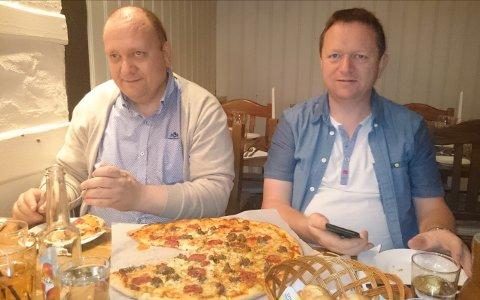 BRØDRE: Tor Roald Rud (t.v.) og Svein Erik Rud.