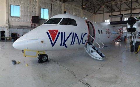 Fly Viking bruker Dash 8.